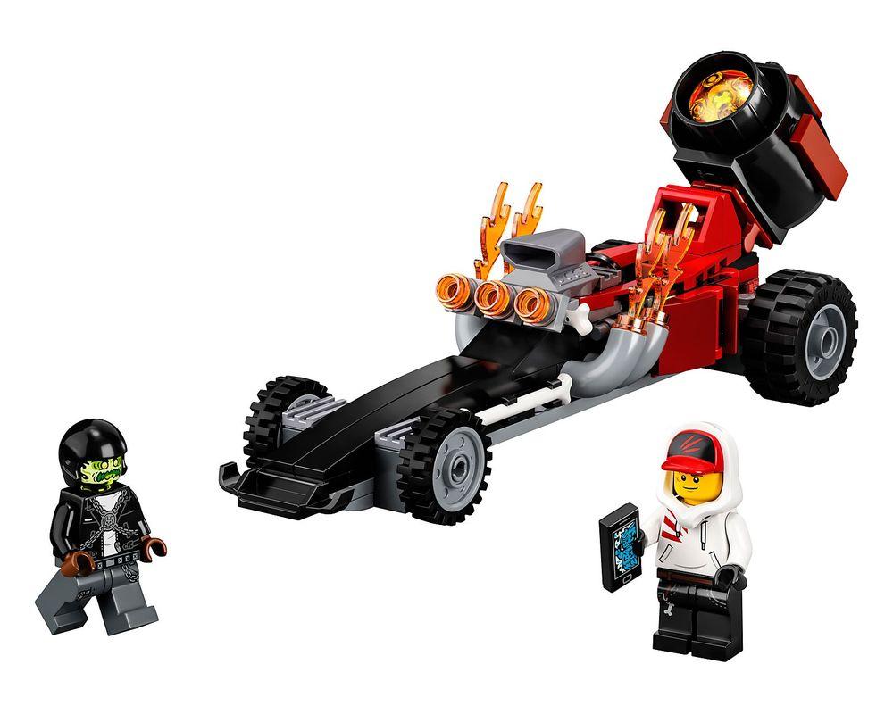 LEGO Set 40408-1 Drag Racer (Model - A-Model)