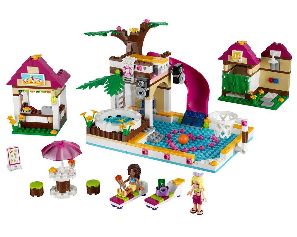LEGO Set 41008-1 Heartlake City Pool (Model - A-Model)