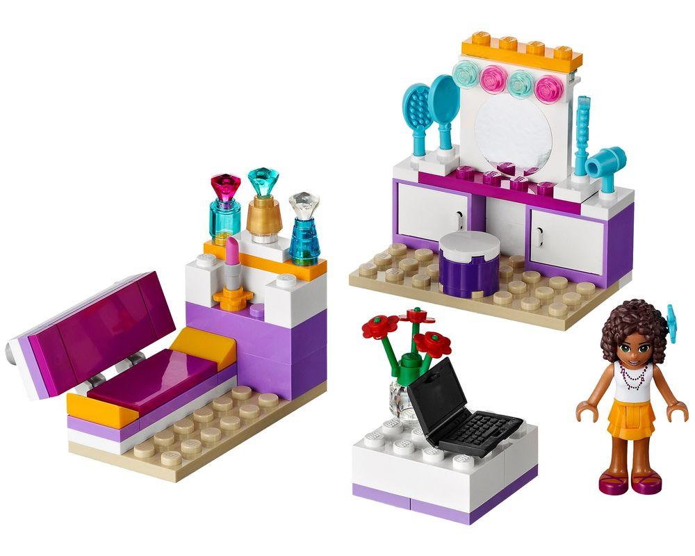 LEGO Set 41009-1 Andrea's Bedroom (Model - A-Model)