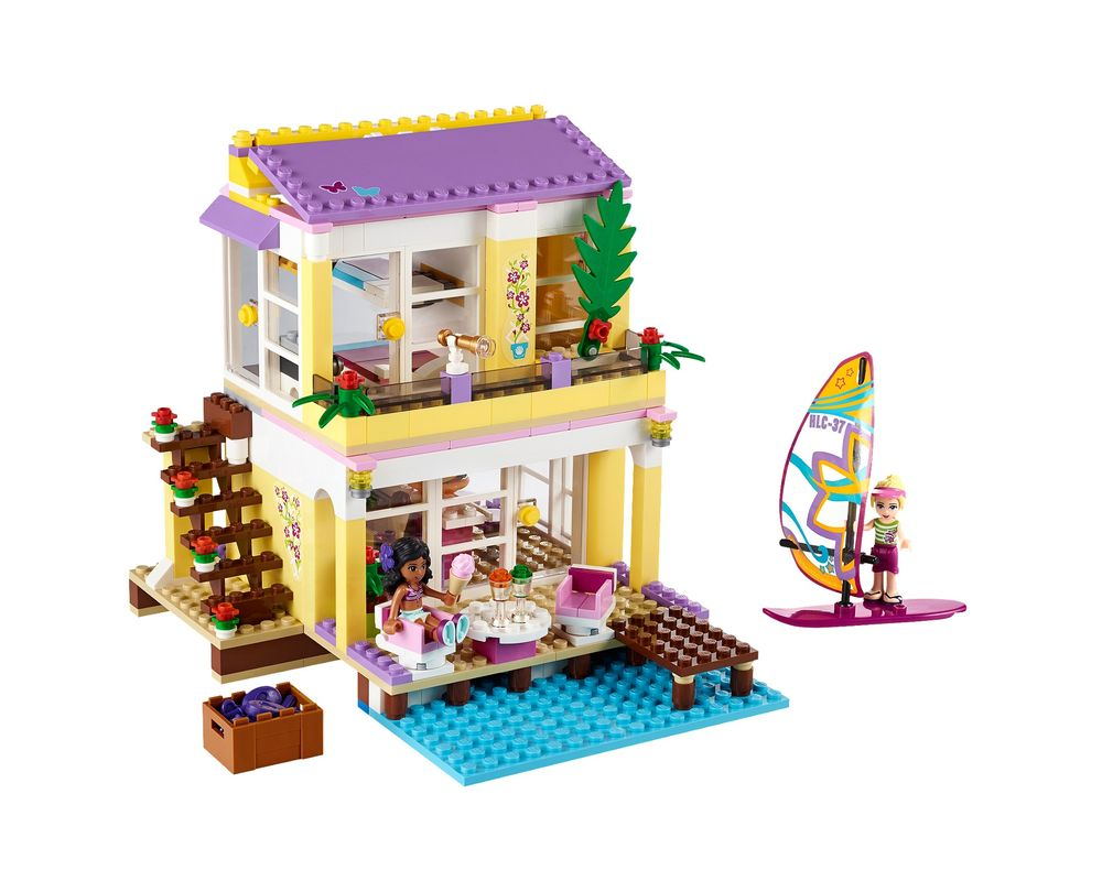 LEGO Set 41037-1 Stephanie's Beach House (Model - A-Model)
