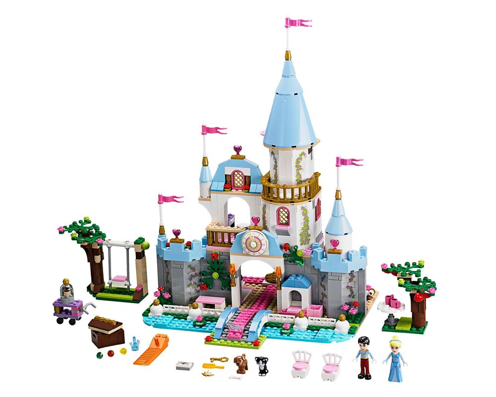 LEGO Set 41055-1 Cinderella's Romantic Castle (LEGO - Model)