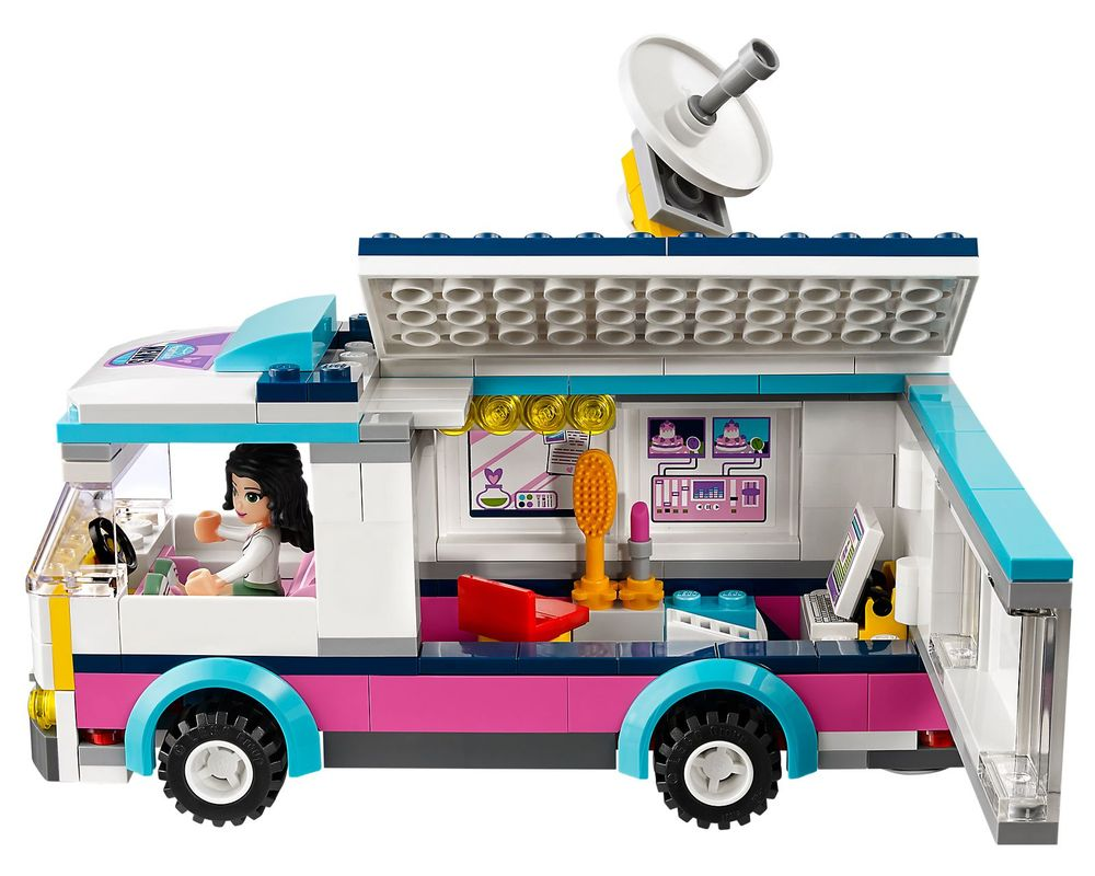 LEGO Set 41056-1 Heartlake News Van