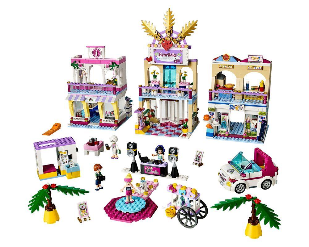 LEGO Set 41058-1 Heartlake Shopping Mall (LEGO - Model)