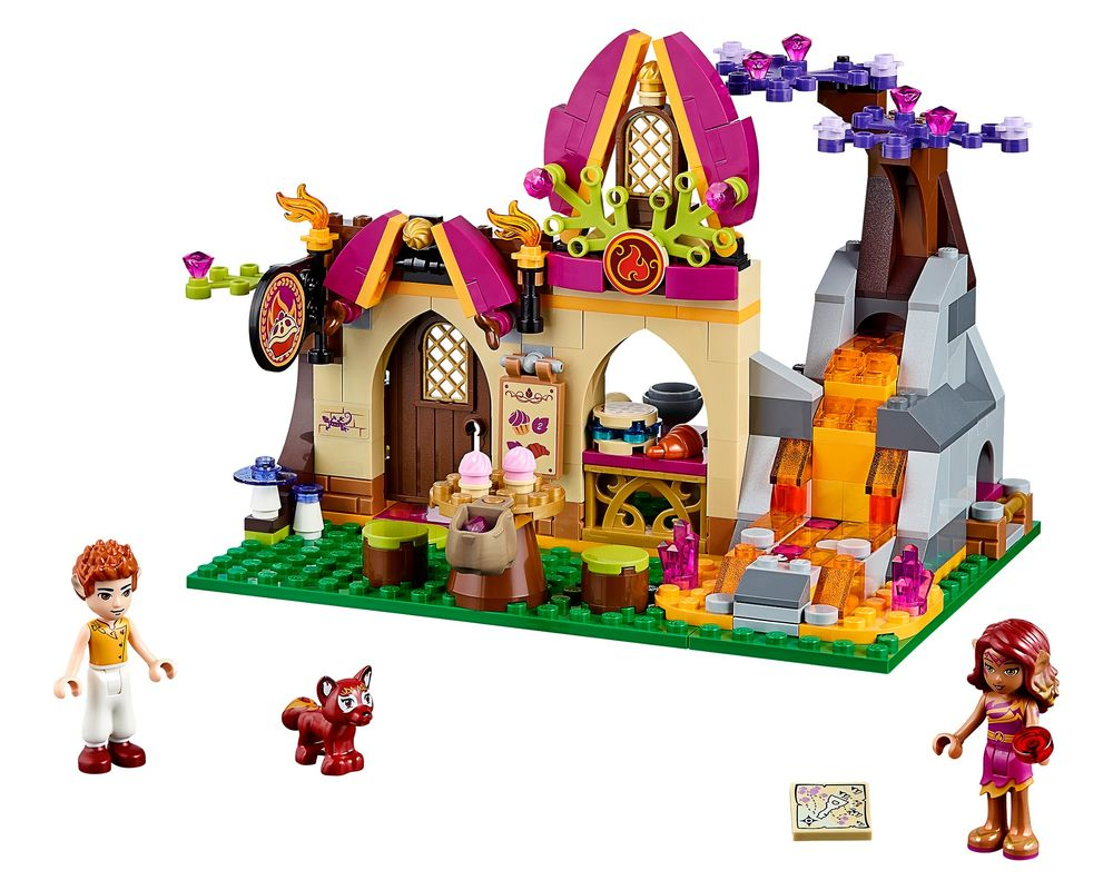 LEGO Set 41074-1 Azari and the Magical Bakery (Model - A-Model)