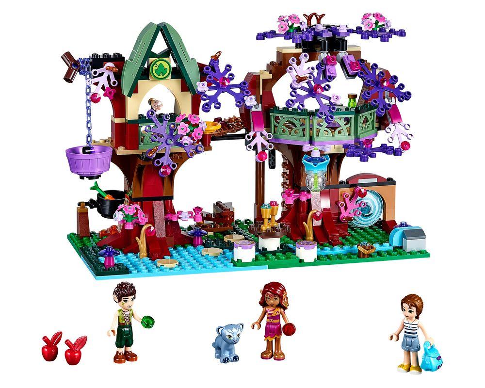 LEGO Set 41075-1 The Elves' Treetop Hideaway (Model - A-Model)