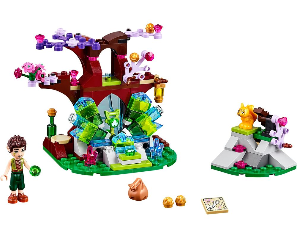 LEGO Set 41076-1 Farran and the Crystal Hollow (LEGO - Model)