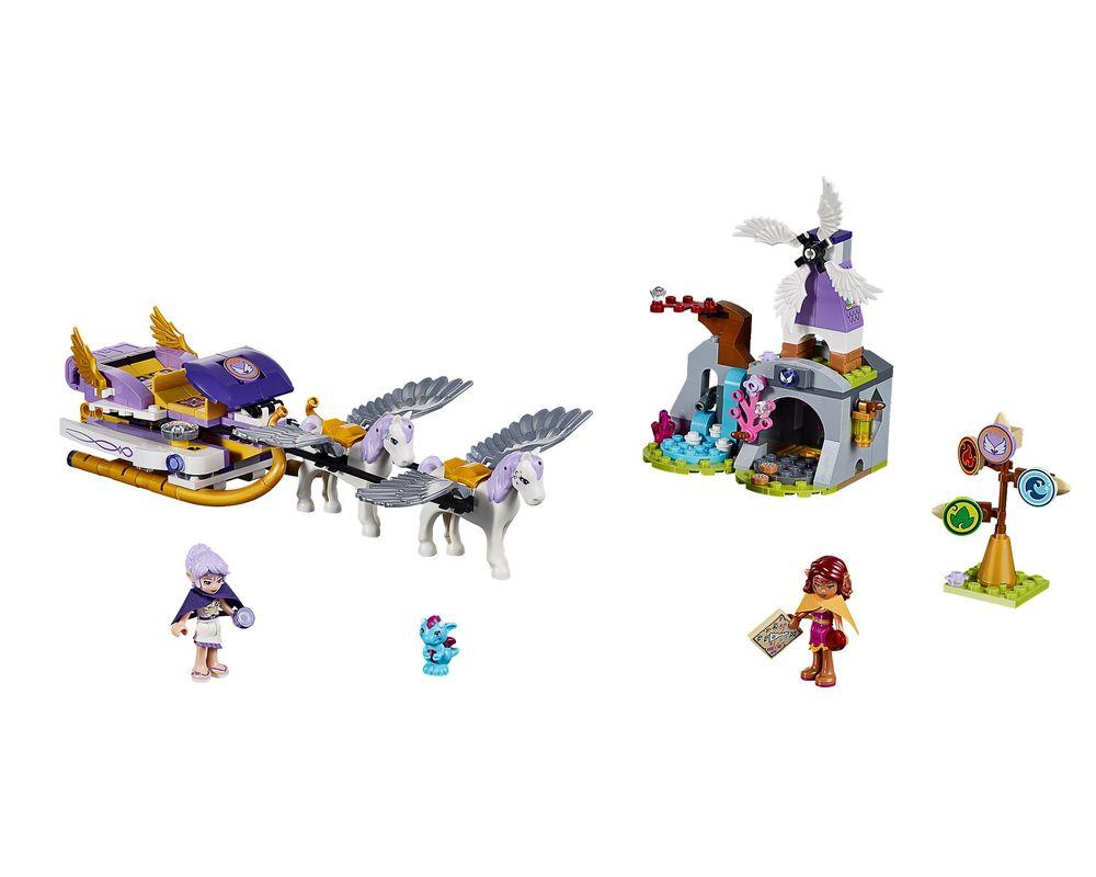LEGO Set 41077-1 Aira's Pegasus Sleigh (LEGO - Model)