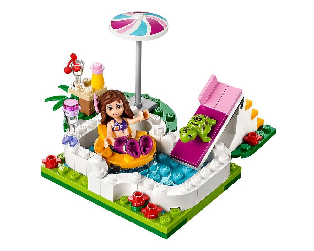 LEGO Set 41090-1 Olivia's Garden Pool