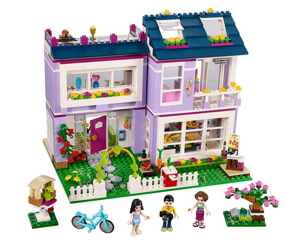 LEGO Set 41095-1 Emma's House (Model - A-Model)