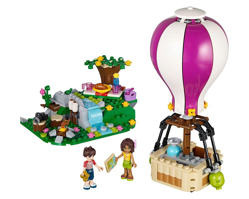 LEGO Set 41097-1 Heartlake Hot Air Balloon (Model - A-Model)