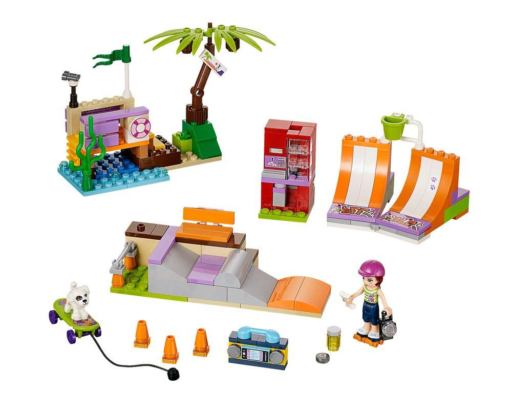 LEGO Set 41099-1 Heartlake Skate Park (Model - A-Model)