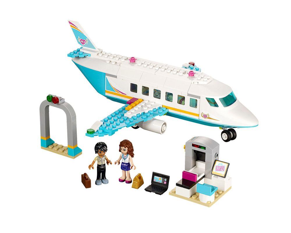 LEGO Set 41100-1 Heartlake Private Jet (LEGO - Model)