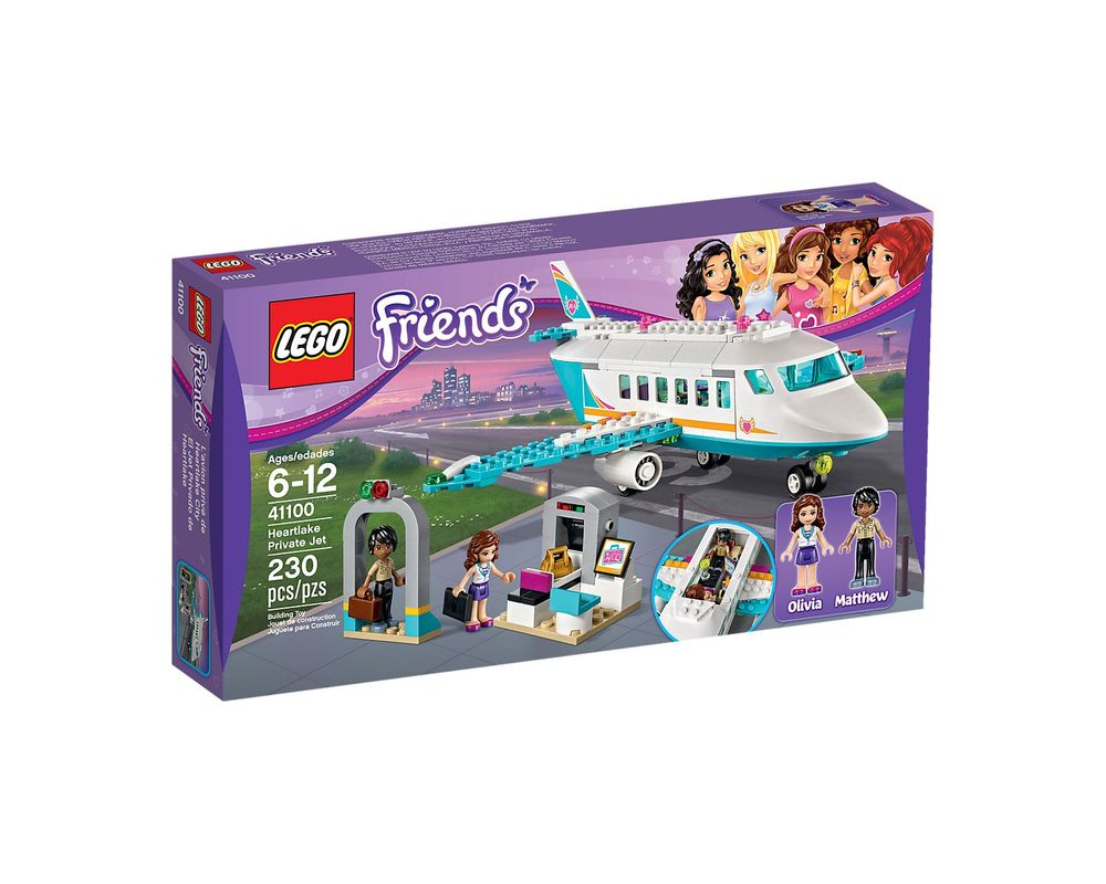 LEGO Set 41100-1 Heartlake Private Jet