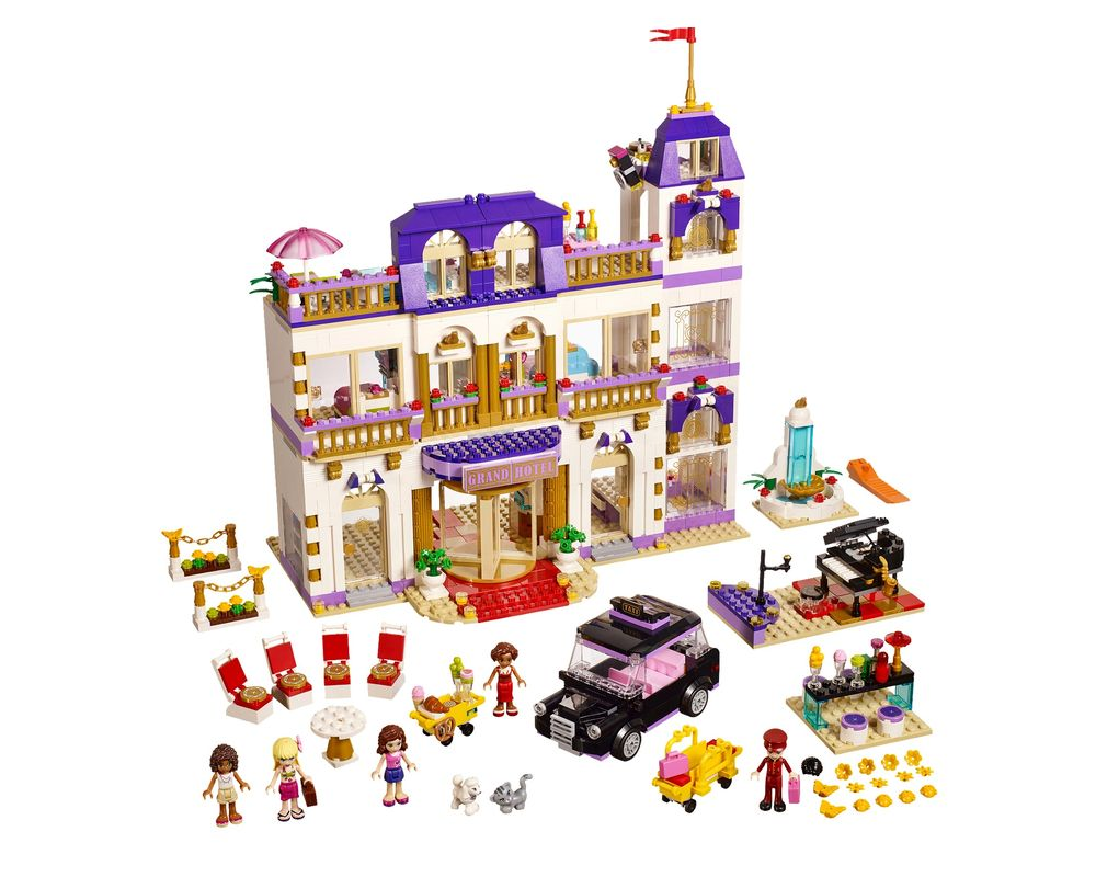 LEGO Set 41101-1 Heartlake Grand Hotel  (LEGO - Model)