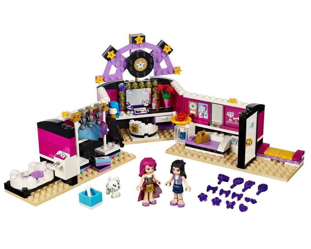LEGO Set 41104-1 Pop Star Dressing Room (Model - A-Model)