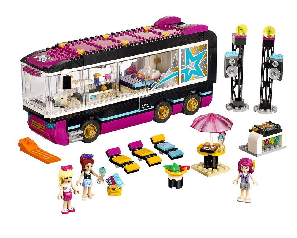 LEGO Set 41106-1 Pop Star Tour Bus (Model - A-Model)