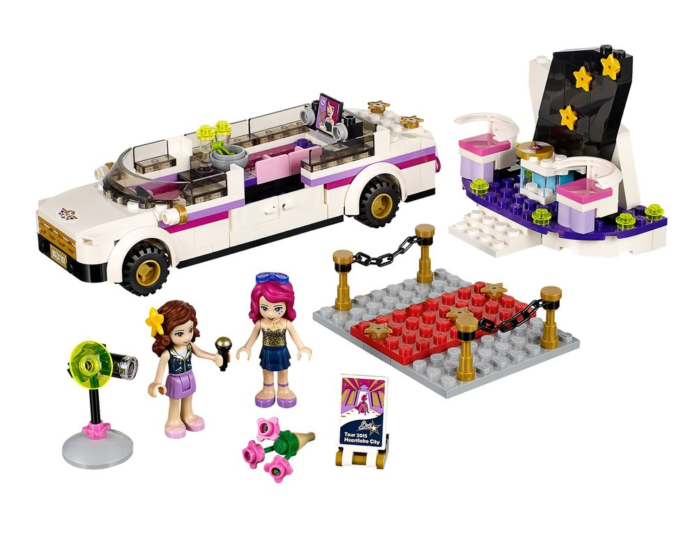 LEGO Set 41107-1 Pop Star Limousine (Model - A-Model)