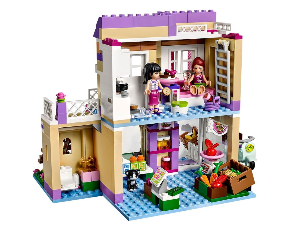 LEGO Set 41108-1 Heartlake Food Market