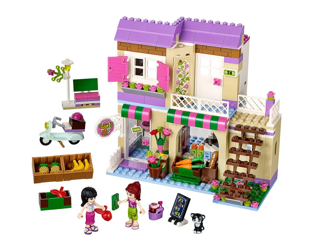 LEGO Set 41108-1 Heartlake Food Market (Model - A-Model)