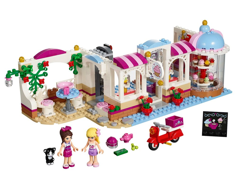 LEGO Set 41119-1 Heartlake Cupcake Cafe (Model - A-Model)