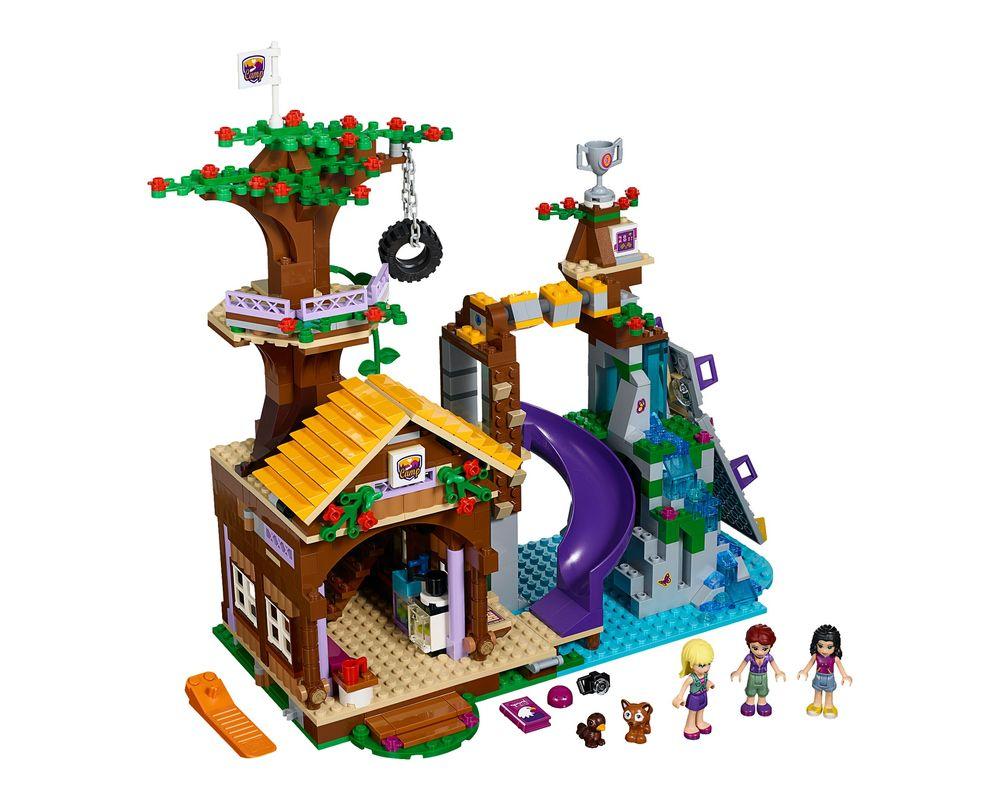 LEGO Set 41122-1 Adventure Camp Tree House (Model - A-Model)