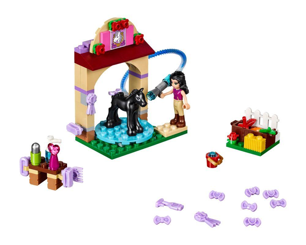 LEGO Set 41123-1 Foal's Washing Station (Model - A-Model)