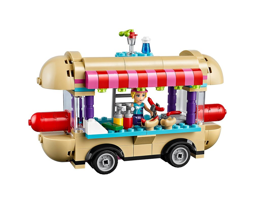 LEGO Set 41129-1 Amusement Park Hot Dog Van
