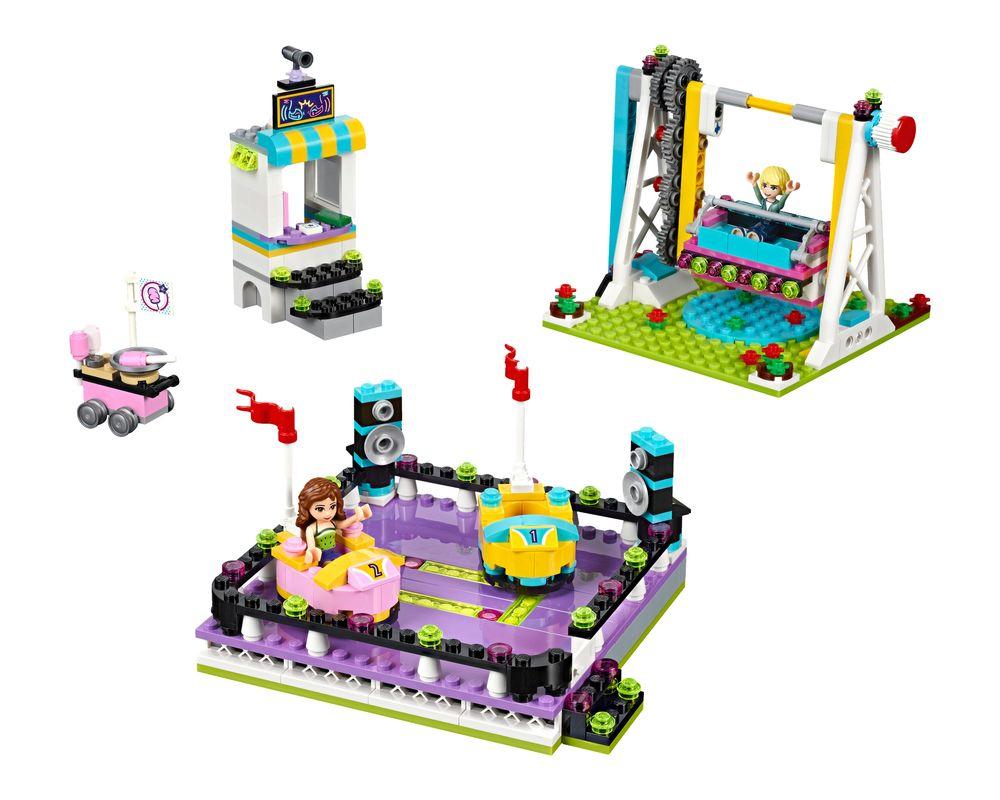 LEGO Set 41133-1 Amusement Park Bumper Cars (LEGO - Model)