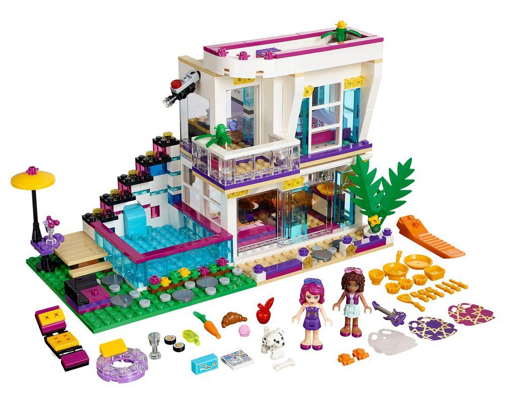 LEGO Set 41135-1 Livi's Pop Star House (LEGO - Model)