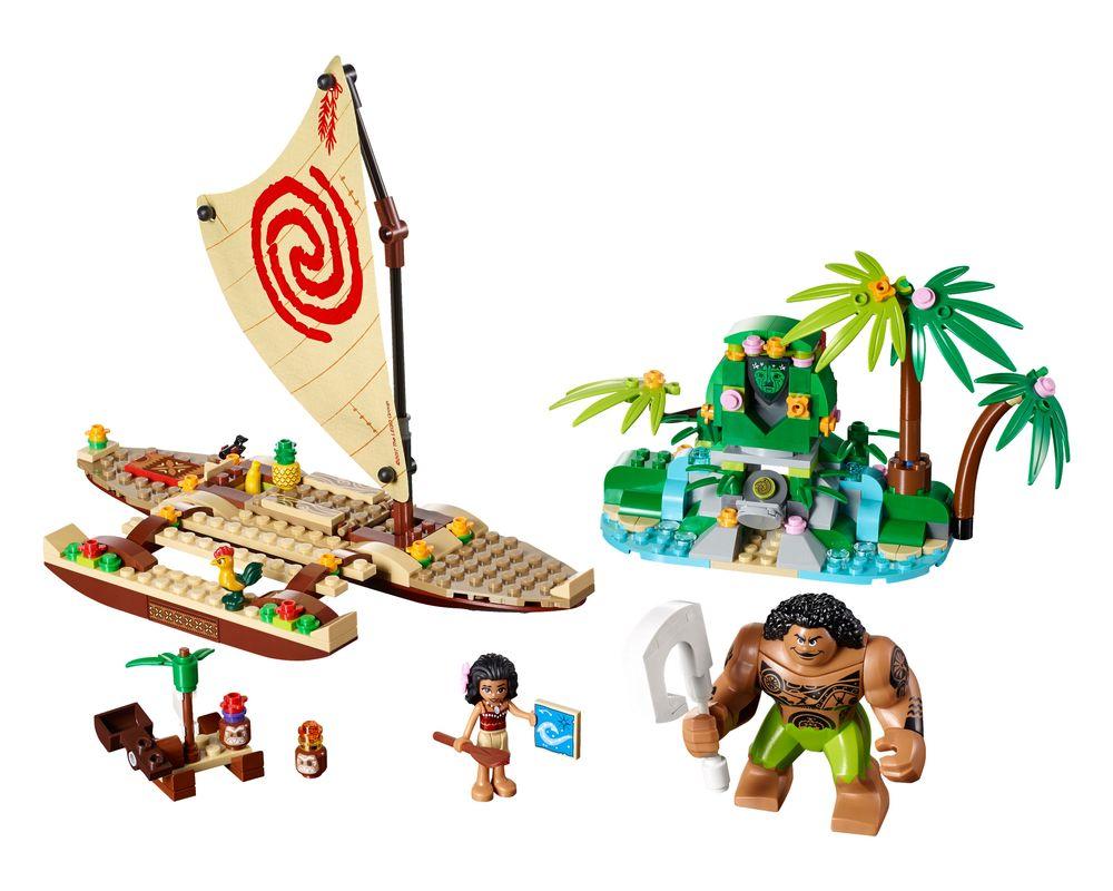 LEGO Set 41150-1 Moana's Ocean Voyage (LEGO - Model)