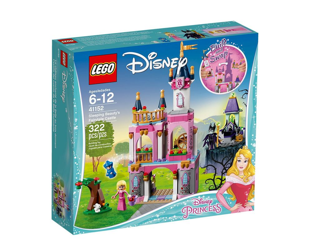LEGO Set 41152-1 Sleeping Beauty's Fairytale Castle