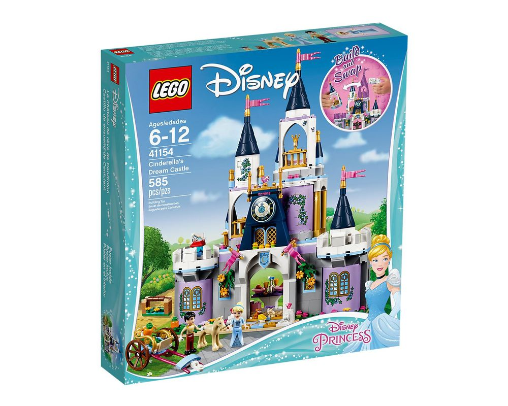 LEGO Set 41154-1 Cinderella's Dream Castle