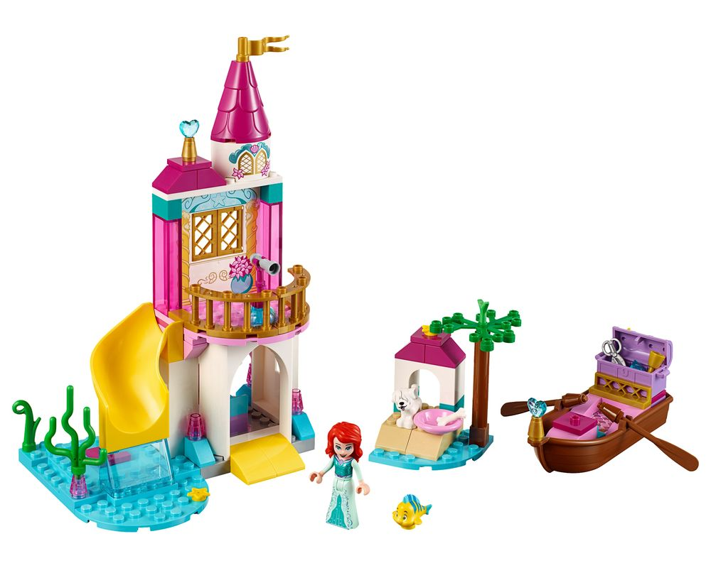 LEGO Set 41160-1 Ariel's Seaside Castle (Model - A-Model)