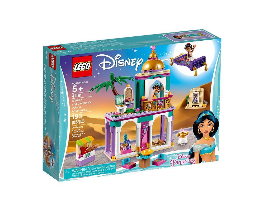 LEGO Set 41161-1 Aladdin and Jasmine's Palace Adventures