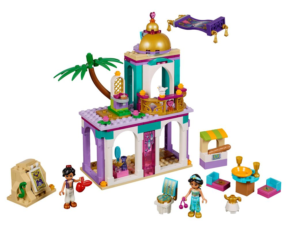 LEGO Set 41161-1 Aladdin and Jasmine's Palace Adventures (Model - A-Model)