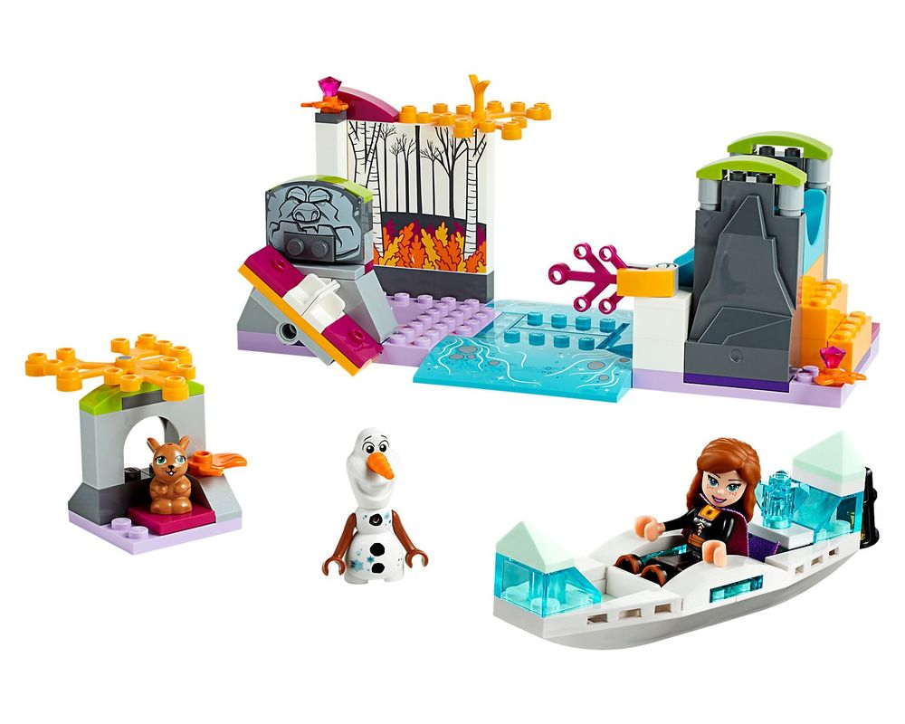 LEGO Set 41165-1 Anna's Canoe Expedition (Model - A-Model)