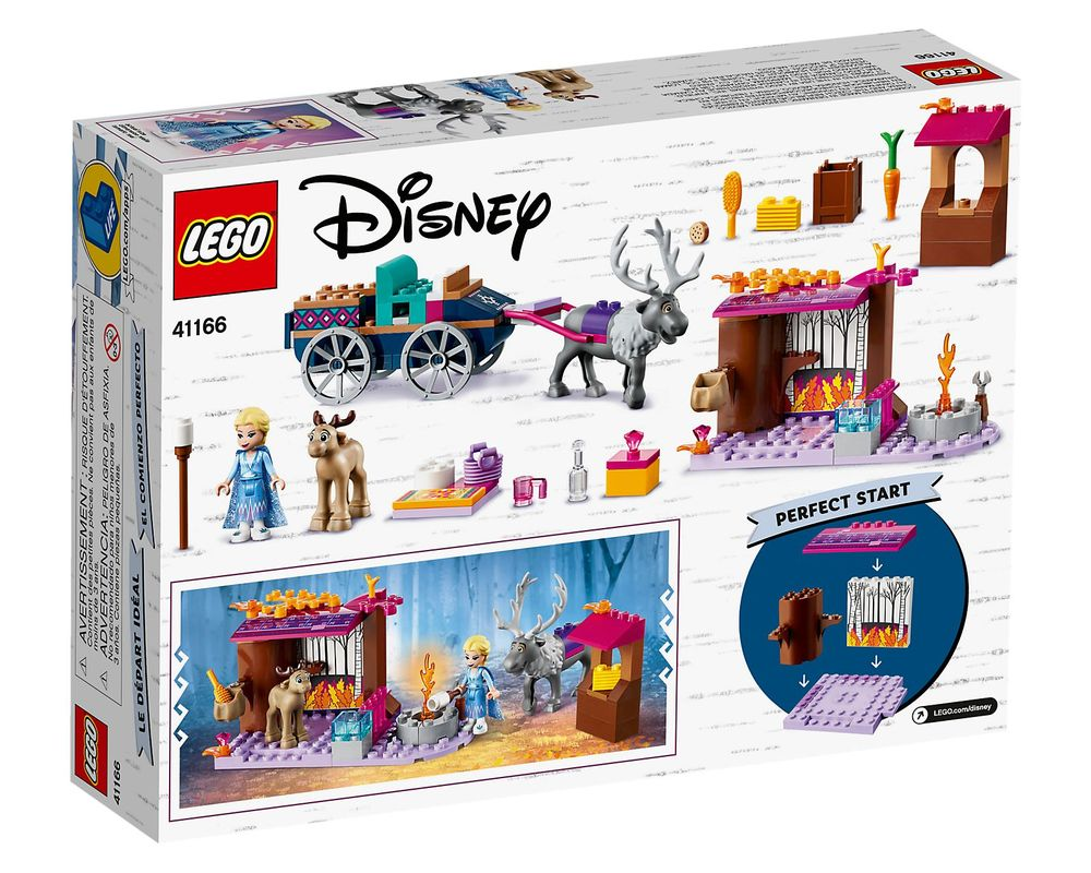 LEGO Set 41166-1 Elsa's Wagon Adventure