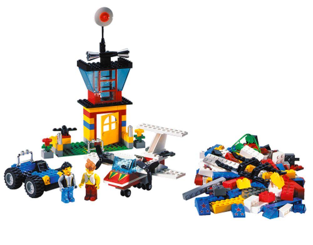 Lego Set 4117 1 Fantastic Flyers Cool Cars Bucket 2001
