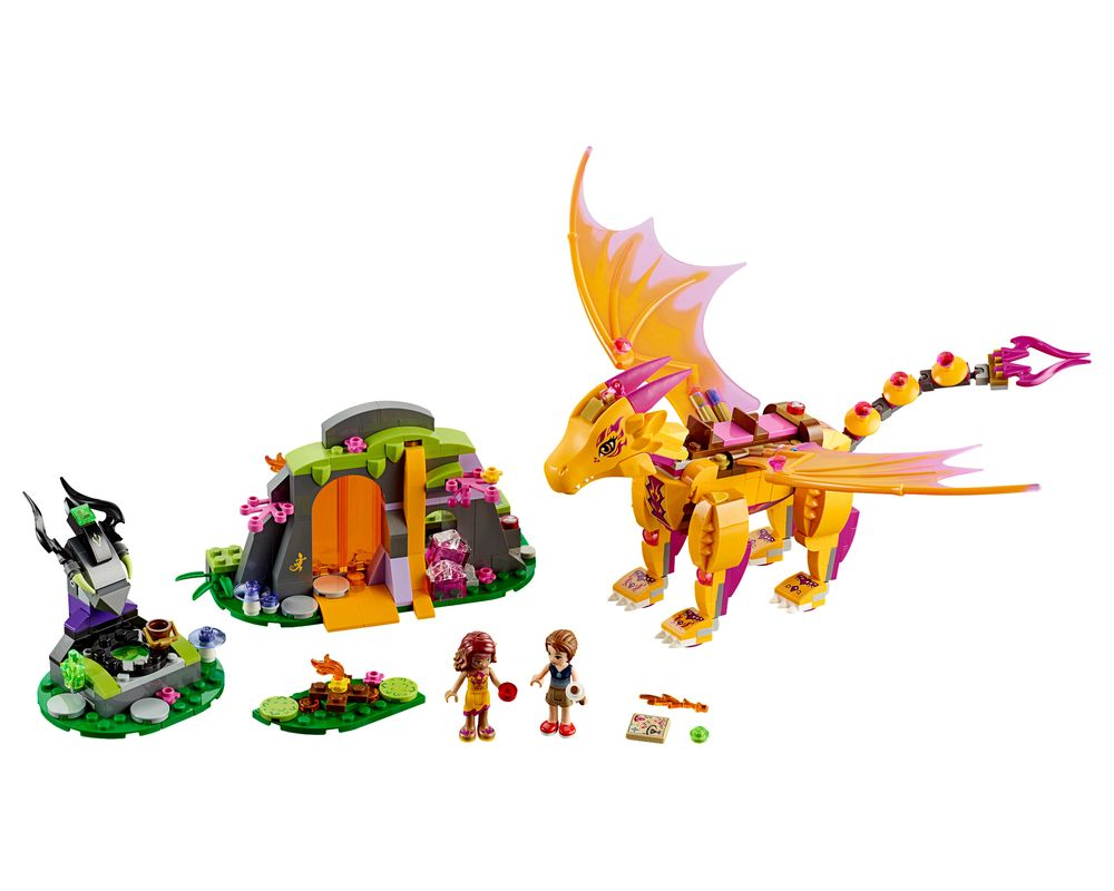LEGO Set 41175-1 Fire Dragon's Lava Cave (Model - A-Model)