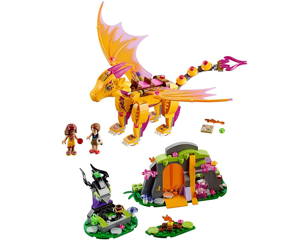 LEGO Set 41175-1 Fire Dragon's Lava Cave