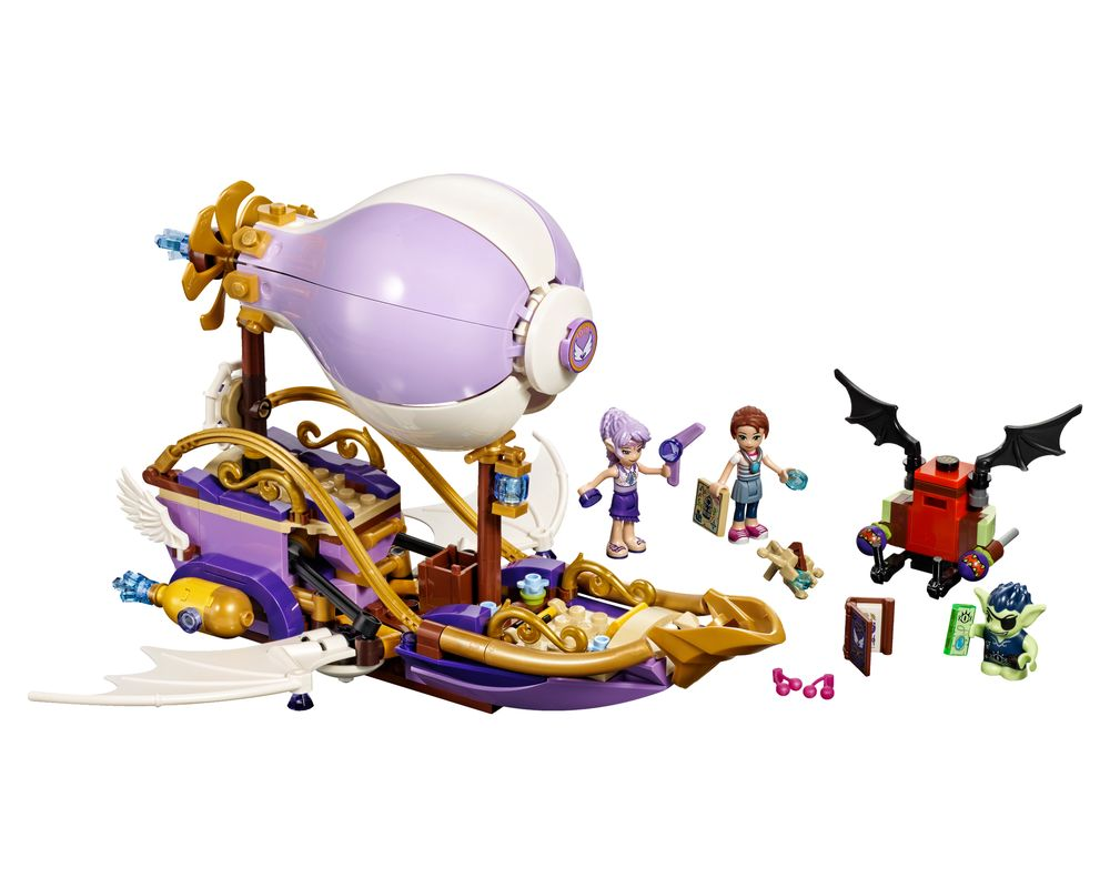 LEGO Set 41184-1 Aira's Airship & the Amulet Chase (Model - A-Model)