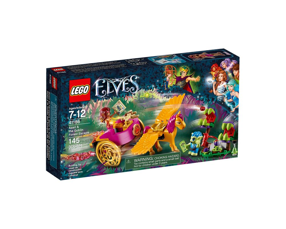LEGO Set 41186-1 Azari & the Goblin Forest Escape