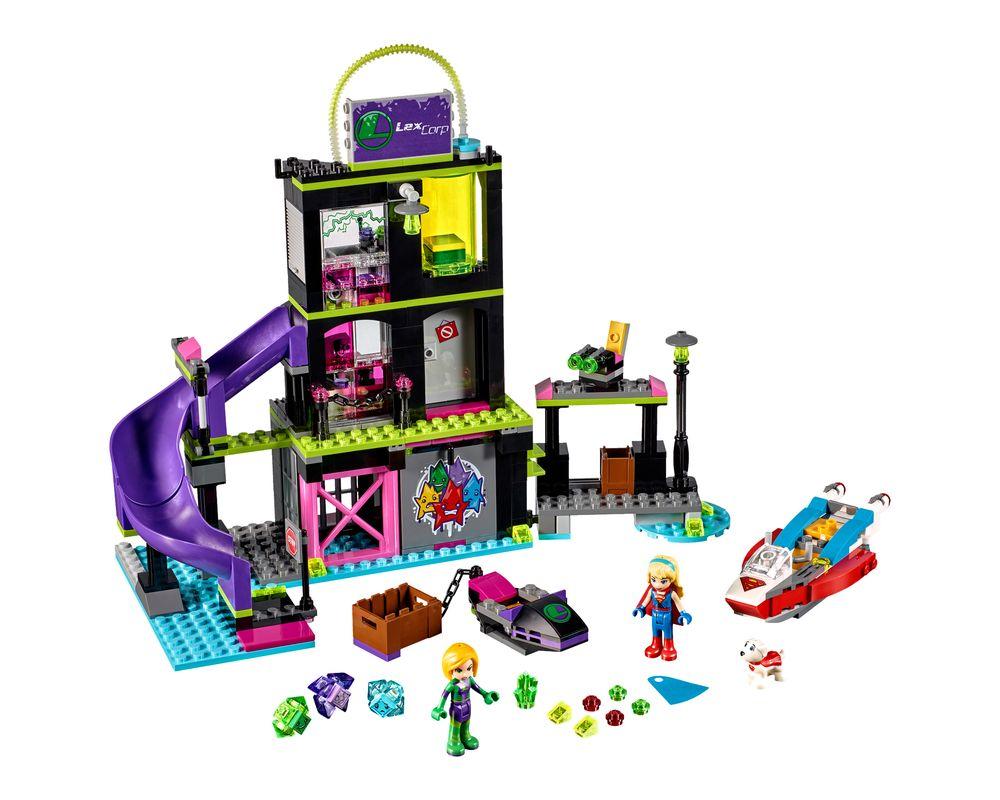 LEGO Set 41238-1 Lena Luthor Kryptomite Factory (Model - A-Model)