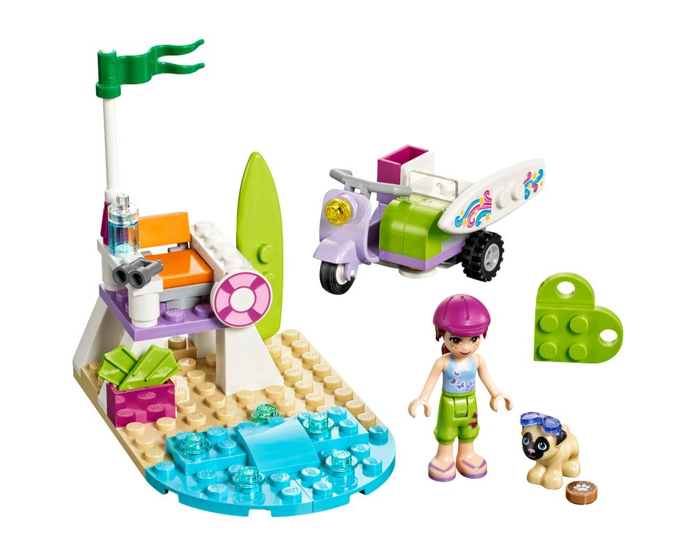 LEGO Set 41306-1 Mia's Beach Scooter (LEGO - Model)