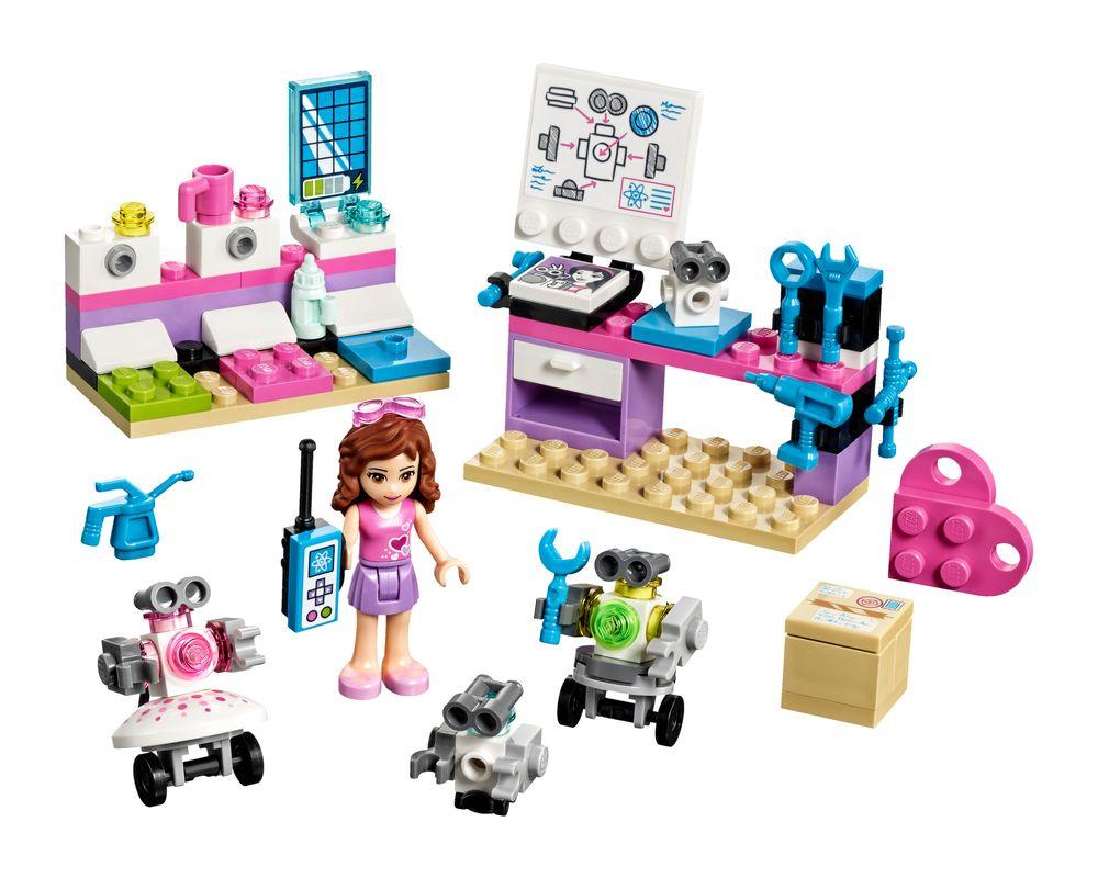 LEGO Set 41307-1 Olivia's Creative Lab (LEGO - Model)