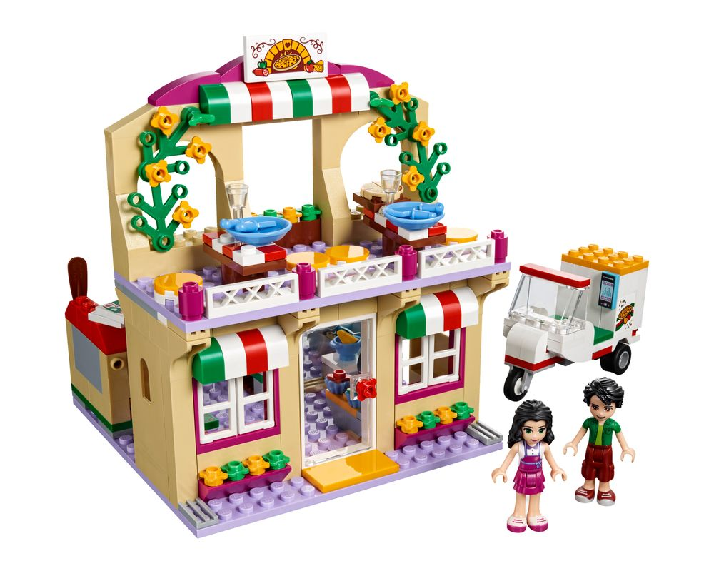 LEGO Set 41311-1 Heartlake Pizzeria (Model - A-Model)