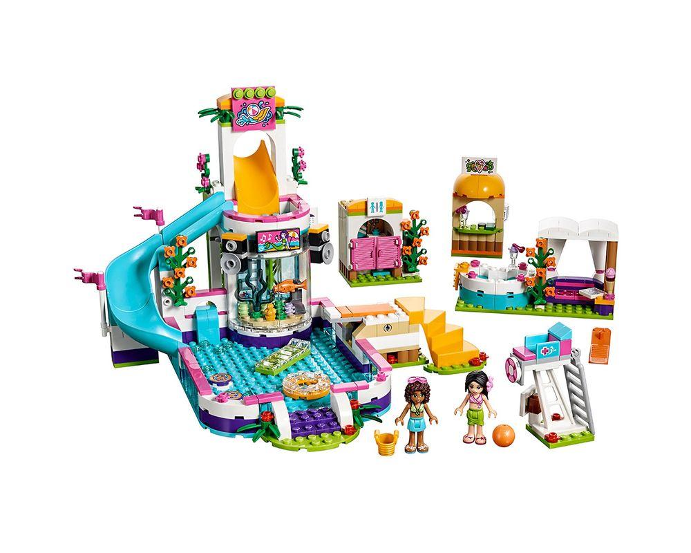 LEGO Set 41313-1 Heartlake Summer Pool (Model - A-Model)