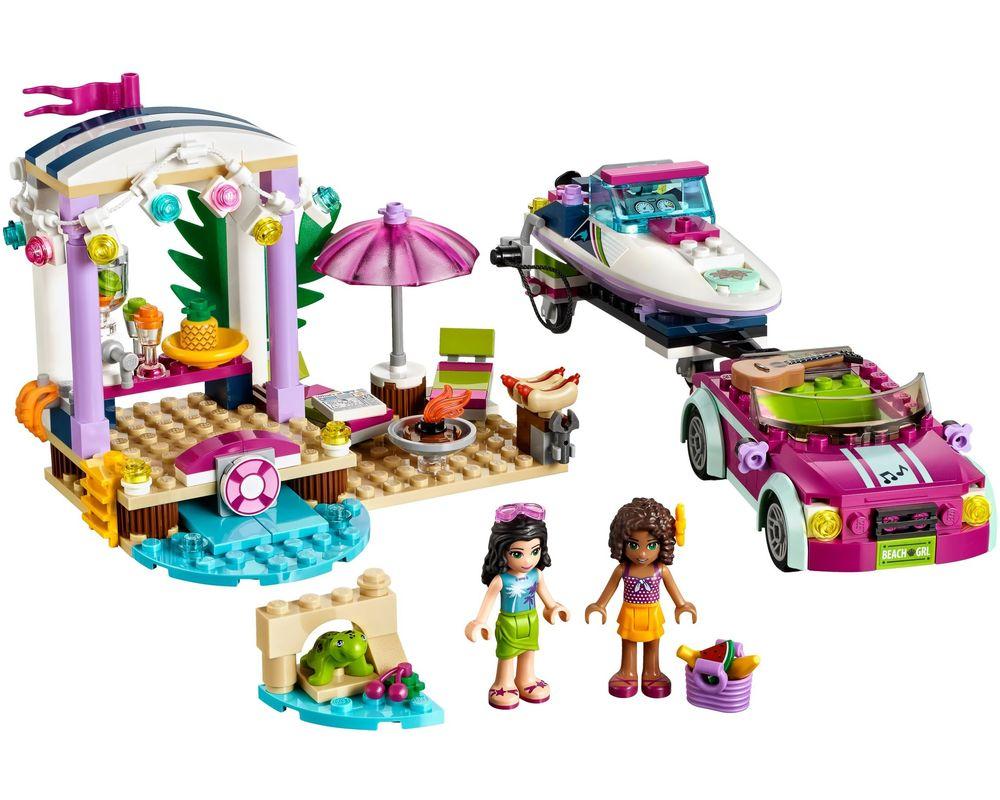 LEGO Set 41316-1 Andrea's Speedboat Transporter (LEGO - Model)