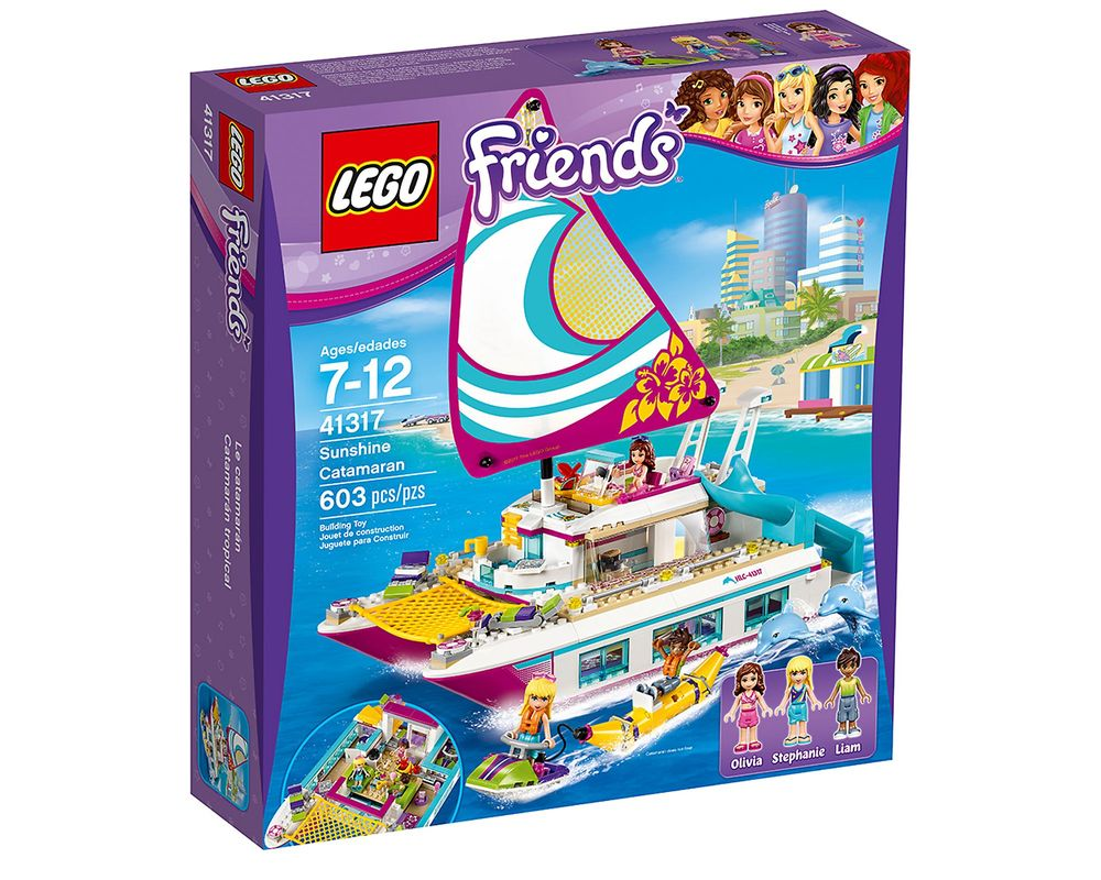LEGO Set 41317-1 Sunshine Catamaran
