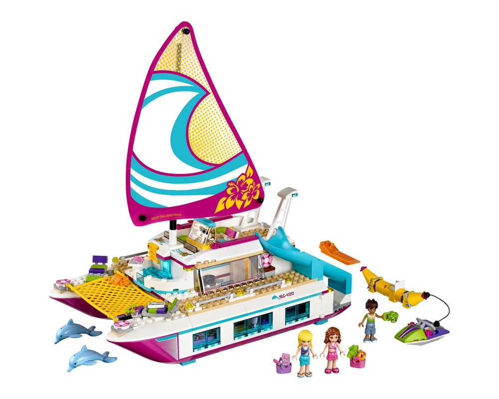 LEGO Set 41317-1 Sunshine Catamaran (LEGO - Model)